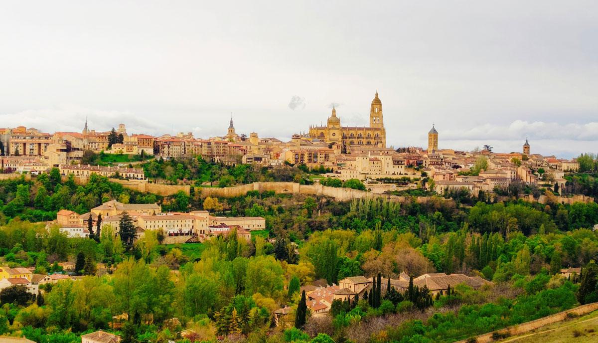 Panóramica de Segovia + paseo